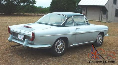 renault caravelle engine 1963 renault caravelle s 1 0l