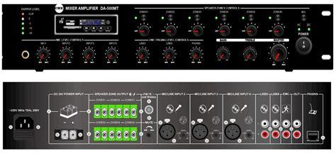 Mixer Lifier Bmb Da 2700 Dsp System address system pa system china cmxaudio