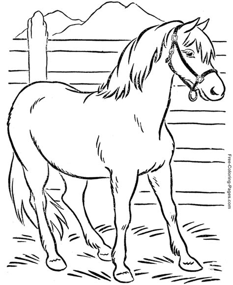 horse coloring pages games online coloring book print outs for adults color online