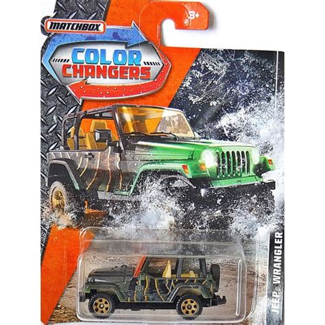color changer matchbox color changers jeep wrangler global diecast