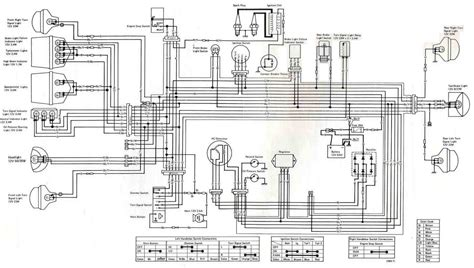 electrical circuit diagram kawasaki kz400 1975 electrical wiring diagram all about