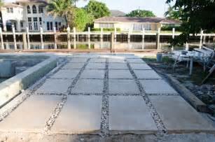 backyard pavers are finished