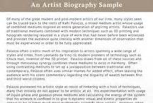 short biography artist best biography sles best biography on pinterest
