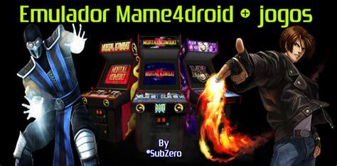 tiger mame apk emulador fliperama neo geo arcade p android mame4droid tiger arcade jogos roms