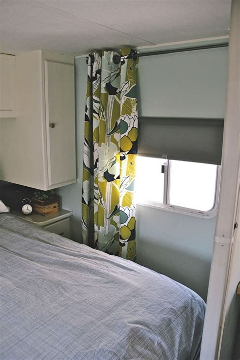 shower curtain for travel trailer our anchored home before after anchored home