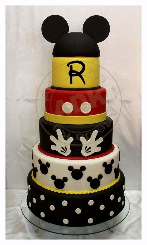 ideas  mickey mouse cake decorations  pinterest mickey mouse birthday