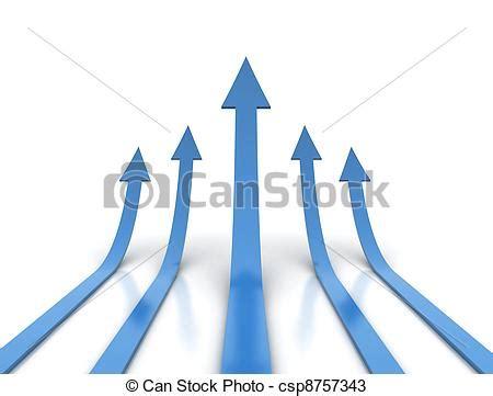 clipart frecce frecce concorrenza illustrazione concettuale