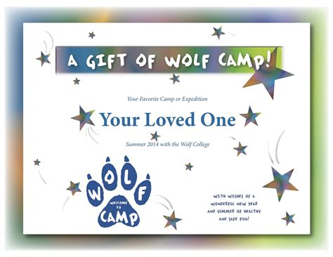 summer c certificate template register now for summer cs expeditions the wolf college