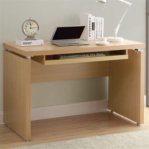 maple 48in l computer desk contemporary desks and