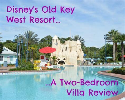 disneys  key west resort  bedroom villa review