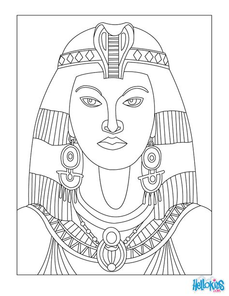 egyptian mandala coloring pages egyptian art coloring pages cleopatra queen of egypt for