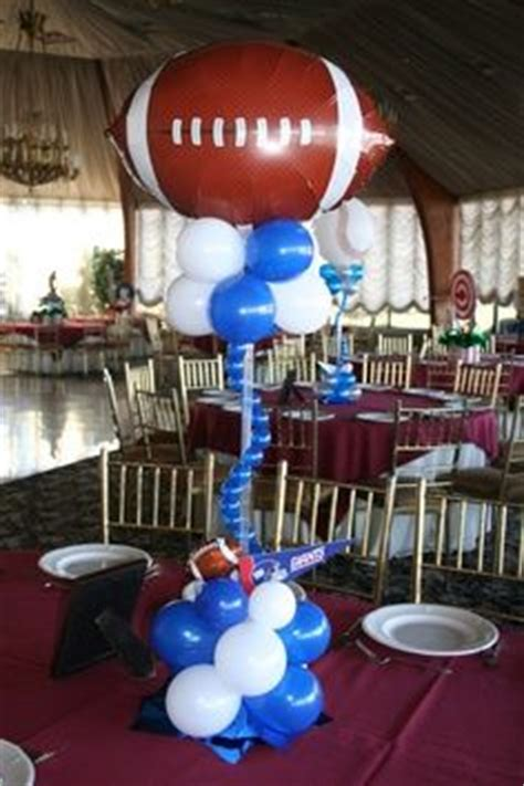 Sports Themed Balloon Decor by 1000 Images About Athletic Banquet Table Decorations On