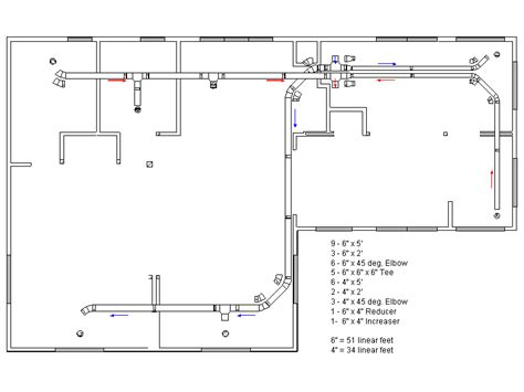 air duct layout design the kester house garden mechanical hvac