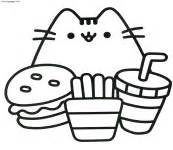 pusheen coloring pages pdf free coloring pages at kawaii pusheen cat coloring pages pdf free printable