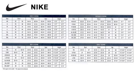 nike shoes size chart 45 00