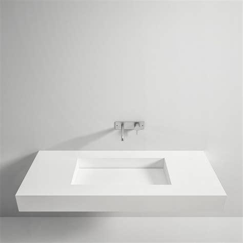 lavabo in corian top in corian 174 con lavabo scivolo