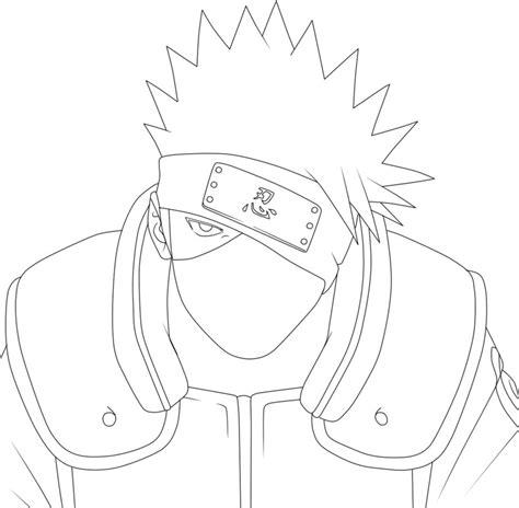 kakashi free coloring pages