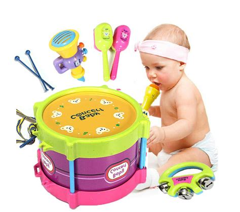 baby two side drum musical instruments kids drum set