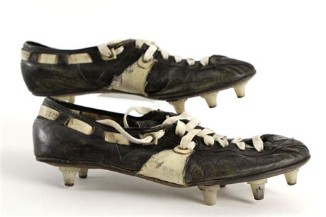 how to make football shoes lot detail 1960 s riddell snug fit worn football