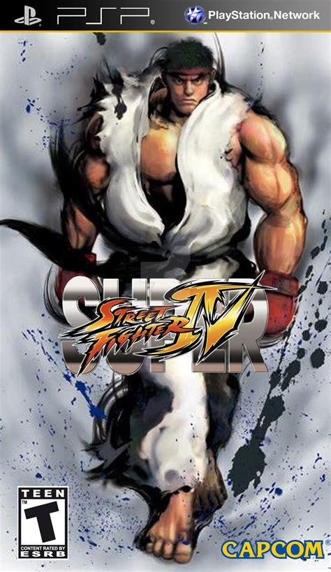 psp themes street fighter super street fighter iv psp 5 by mattbizzle2k10 on deviantart