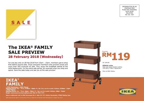 Sale Ikea ikea sale is back on march 1st 11th sale preview feb
