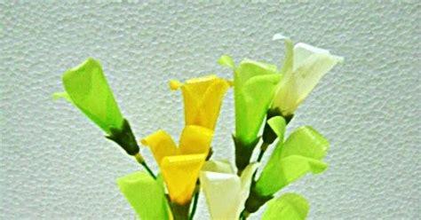 kreasi craft bunga terompet