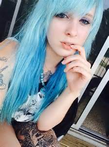 light blue hair color light blue strands hair colors ideas