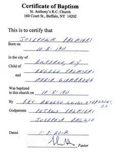Godparent Certification Letter Jure Sanguinis Page 3 Genealogy And Jure Sanguinis