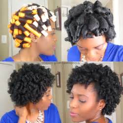 how to do a perm rod set on relaxed hair perm rod set using beemine products butter valentines