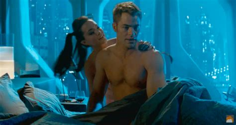 hot chick from star trek into darkness showerthought disney s brave is sexist in that all male