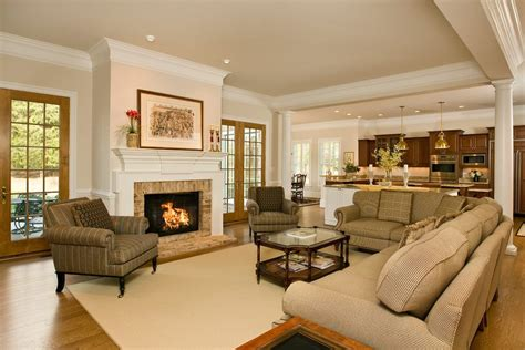 Contemporary open floor plan living room contemporary with modern floor lamp concrete floor
