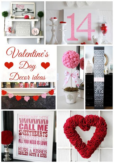 valentines decoration ideas valentine s day decor ideas classy clutter