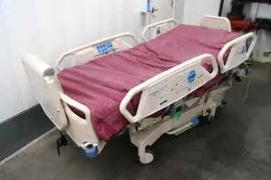 auto patient rotation hospital bed with low air loss mattress