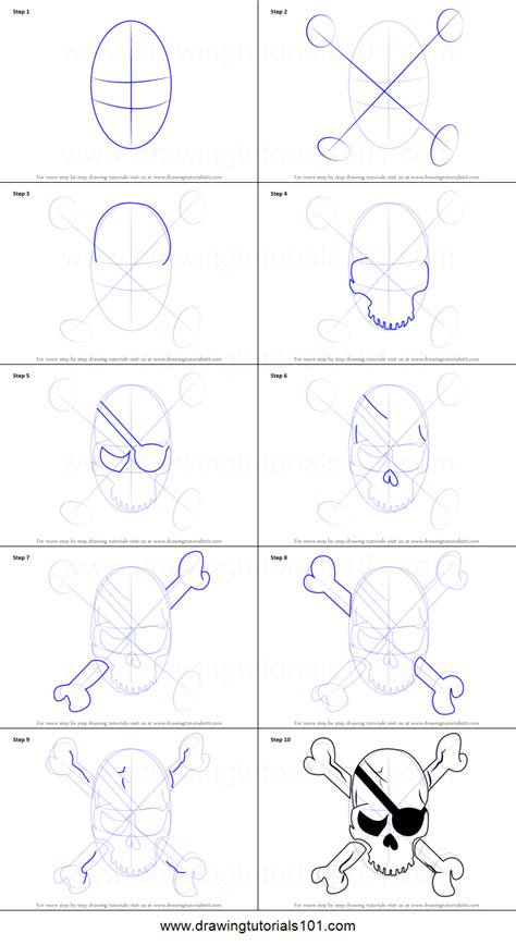 easy step by step how to draw skull and snake pics how to draw a pirate skull printable step by step drawing