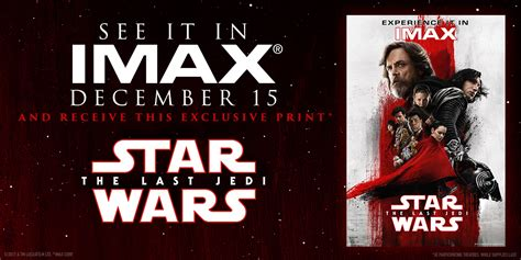 wars the last jedi opening fan event wars the last jedi imax 174 tickets on sale now imax