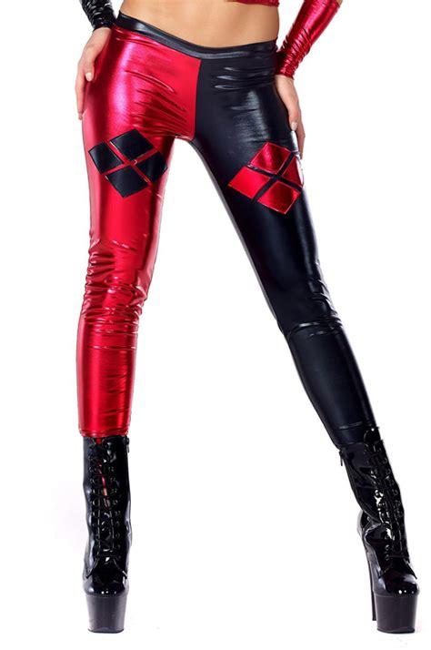 sexy leggings onlyleggingscom harley quinn sexy spandex leggings 15112108 cosercosplay com