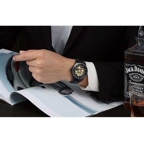 Jam Tangan Pria 511 Tatical 1 nary jam tangan mechanical kulit 18026 black silver jakartanotebook