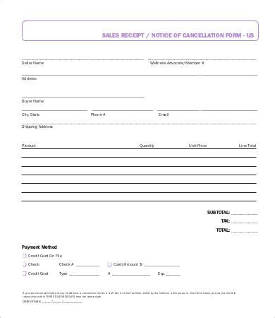 self business check receipt template sales receipt template 17 free word pdf documents