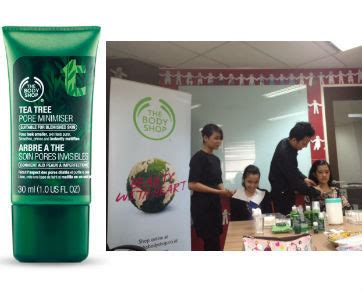Make Up Shop Indonesia samarkan pori pori besar dengan gel tea tree dari the shop