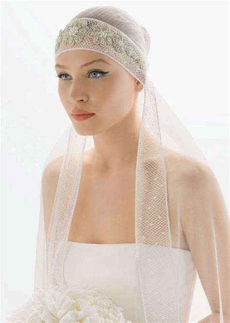 how to wrap wedding hair romantic bridal veils by rosa clara bridal hair wrap