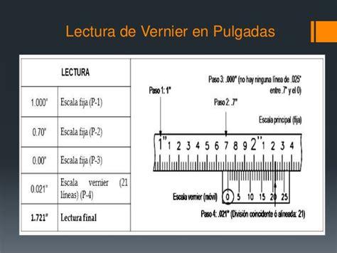 fracciones en pulgadas ppt metrologia