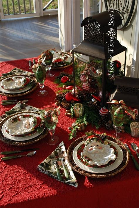 christmas table setting christmas table setting christmas party and table