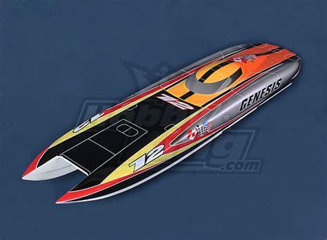 rc boat hulls uk genesis offshore twin hull 1045mm fiberglass hull only