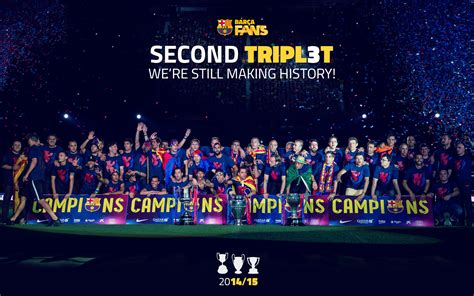 wallpaper barcelona fc 2014 fc barcelona 2014 2015 winners uefa chions league