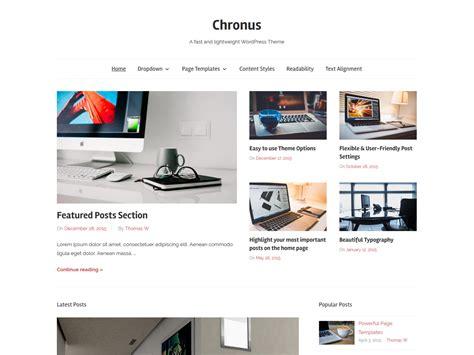wordpress themes zee chronus themezee