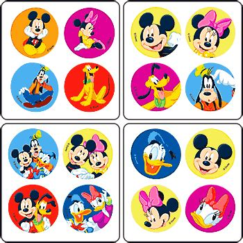 Sticker Stiker Label Pengiriman Disney Mickey Mouse Miki Tikus free disney mickey mouse friends cross stitch pattern 2email only other craft items