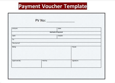 receipt voucher template voucher format in word payment voucher word format
