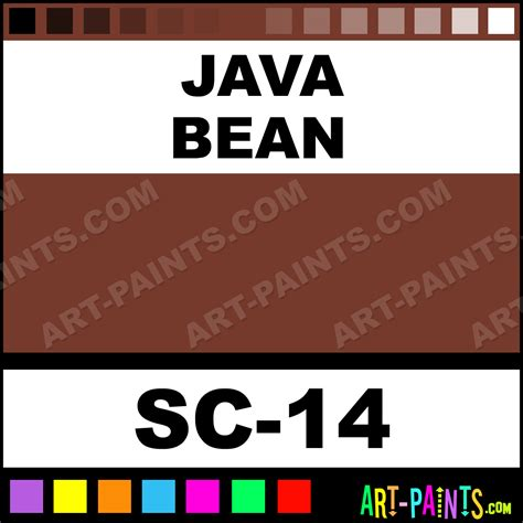 java bean stroke and coat ceramic paints sc 14 java bean paint java bean color mayco