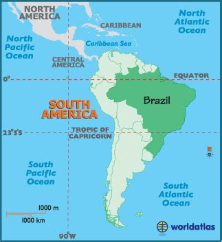 South America   6B Geography