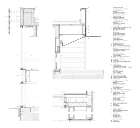 Sketches A Corrugated Bulkhead by 画廊 加拿大朱庇特之家 The Marc Boutin Architectural Collaborative 23